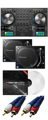 NATIVE INSTRUMENTS / TRAKTOR KONTROL S4 MK3 【TRAKTOR PRO 3無償】 PLX-1000 DVSセット 8大特典セット