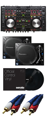 Denon(デノン) / MC6000mk2 【Serato DJ Pro無償】 PLX-1000 DVSセット 8大特典セット