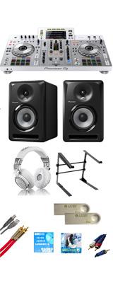 ■金利手数料20回まで無料■ Pioneer(パイオニア) / XDJ-RX2-W 【rekordbox dj無償】 S-DJ80Xセット  15大特典セット