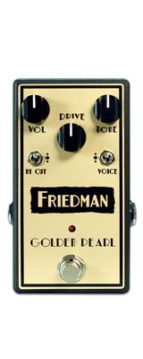 Friedman(フリードマン) / GOLDEN-PEARL - オーバードライブ - 《ギターエフェクター》 「ACアダプタープレゼント!」 1大特典セット