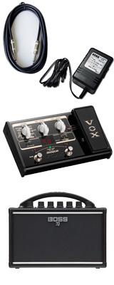 【VOX SL2Gマルチエフェクターセット】 Boss(ボス) / KATANA-MINI 【KTN-MINI】 / StompLab SL2G「純正ACアダプター(KA-181)付」 - バッテリー駆動 ポータブル・ギターアンプ - 3大特典セット