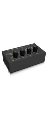 Behringer(ベリンガー) / HA400 MICROAMP - 手のひらサイズのコンパクトな4chステレオ・ヘッドホンアンプ -