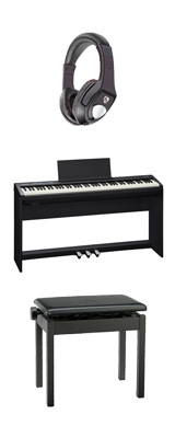 ■ご予約受付■ 【専用スタンド&ペダルボード】+高低自在イス Roland(ローランド) / FP-30-BK - 電子ピアノ デジタルピアノ - 1大特典セット