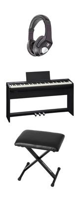 【専用スタンド&ペダルボード】+折り畳みイス Roland(ローランド) / FP-30-BK - 電子ピアノ デジタルピアノ - 1大特典セット