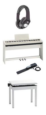 【専用スタンド&ペダルボード】+高低自在イス Roland(ローランド) / FP-30-WH - 電子ピアノ デジタルピアノ - 1大特典セット