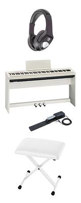 【専用スタンド&ペダルボード】+折り畳みイス Roland(ローランド) / FP-30-WH - 電子ピアノ デジタルピアノ - 1大特典セット