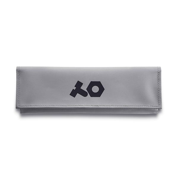 Teenage Engineering(ティーンエイジ エンジニアリング) / OP-Z pvc roll up grey bag (ポリ塩化ビニル) 《グレー》 - OP-Z専用ケース -