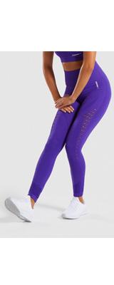 Gymshark(ジムシャーク) / Energy+ Seamless High Waisted Leggings (INDIGO Mサイズ) - レギンス ジム ヨガ ダンス ワークアウト - 《芸能人愛用》