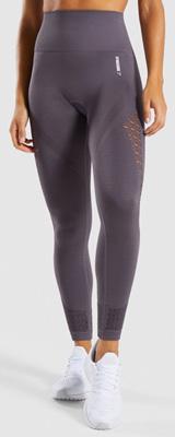 Gymshark(ジムシャーク) / Energy+ Seamless High Waisted Leggings (SLATE LAVENDER Lサイズ) - レギンス ジム ヨガ ダンス ワークアウト - 《芸能人愛用》