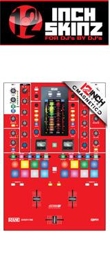 ■ご予約受付■ 12inch SKINZ / Rane SEVENTY-TWO SKINZ (RED) 【SEVENTY-TWO 用マグネットタイプスキン】