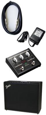 【VOX SL1Gマルチエフェクターセット】 FENDER(フェンダー) / MUSTANG GT200 / StompLab SL1G「純正ACアダプター(KA-181)付」 - Wi-Fi機能搭載 200W ギター アンプ - 3大特典セット
