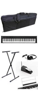 ■ご予約受付■ 【撥水バッグ&X型スタンドセット】 Korg(コルグ) / D1 スピーカーレス デジタルピアノ 「譜面立て・ダンパーペダル・ヘッドホン付き」 1大特典セット