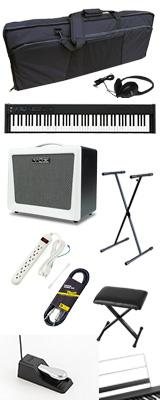 ■ご予約受付■ 【VOXアンプセット】 Korg(コルグ) / D1 スピーカーレス デジタルピアノ 「譜面立て・ダンパーペダル・ヘッドホン付き」 2大特典セット