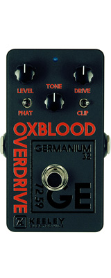KEELEY(キーリー) / Oxblood Black/Orange 2018 Custom Shop - オーバードライブ - 《ギターエフェクター》 【期間限定生産品 なくなり次第終了】 1大特典セット