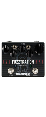 Wampler Pedals(ワンプラーペダル) / Fuzztration - ファズ - 《ギターエフェクター》 【ACアダプタープレゼント】 1大特典セット