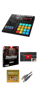 MASCHINE MK3 / Native Instruments(ネイティブインストゥルメンツ) 【音圧アップ!DeemaxプレゼントBセット】【次回6月下旬以降入荷予定】