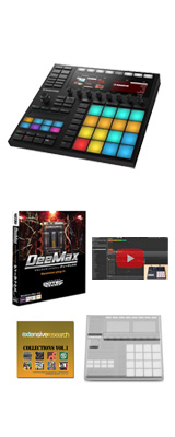 MASCHINE MK3 / Native Instruments(ネイティブインストゥルメンツ) 【音圧アップ!Deemax プレゼントCセット】【次回6月下旬以降入荷予定】