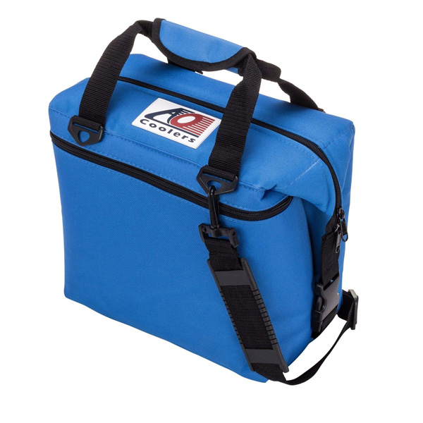AO Coolers / Canvas Soft Cooler (ロイヤルブルー / 12パック) キャンバス ソフトクーラー - クーラーボックス -
