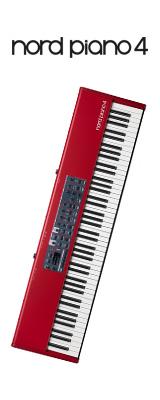 Clavia(クラヴィア) / Nord Piano 4  - 88鍵 ステージピアノ - 1大特典セット