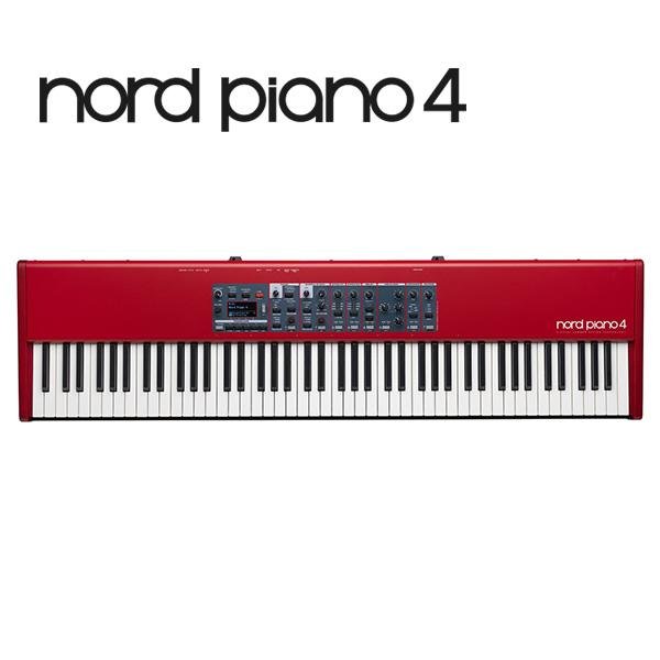 Clavia(クラヴィア) / Nord Piano 4  - 88鍵 ステージピアノ -【12月15日発売】