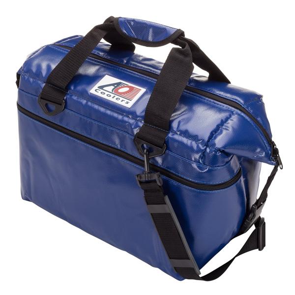 AO Coolers / Water-Resistant Vinyl Soft Cooler (ロイヤルブルー / 24パック) ビニール ソフトクーラー - クーラーボックス -