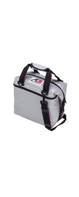 AO Coolers / Water-Resistant Vinyl Soft Cooler  (シルバー / 12パック) ビニール ソフトクーラー - クーラーボックス -