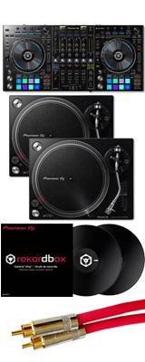 ■ご予約受付■ Pioneer(パイオニア) / DDJ-RZ 【rekordbox dj+rekordbox dvs無償】 PLX-500-K DVSセット 9大特典セット