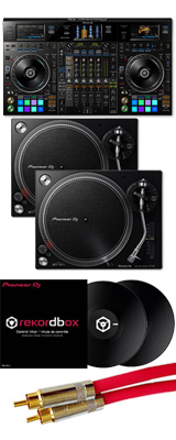 Pioneer(パイオニア) / DDJ-RZX 【rekordbox dj+rekordbox video+rekordbox dvs無償】 PLX-500-K DVSセット 9大特典セット