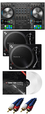 NATIVE INSTRUMENTS / TRAKTOR KONTROL S4 MK3 【TRAKTOR PRO 3無償】 PLX-500-K DVSセット 8大特典セット