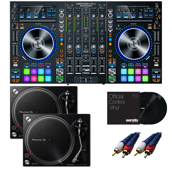 Denon(デノン)/MC7000 【Serato DJ Pro+Serato Expansion Pack無償】 PLX-500-K DVSセット 8大特典セット