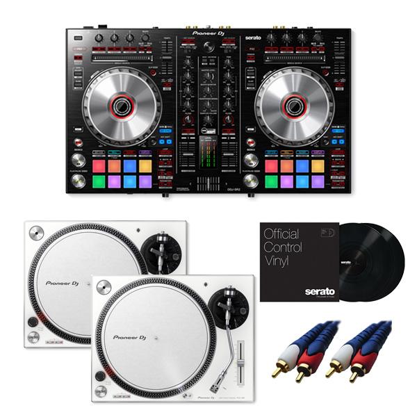 Pioneer(パイオニア) / DDJ-SR2 【Serato DJ Pro+P'NT DJ無償】 PLX-500-W DVSセット 8大特典セット