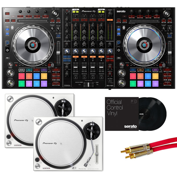 Pioneer(パイオニア) / DDJ-SZ2 【Serato DJ Pro+Serato FLIP+P'NT DJ無償】 PLX-500-W DVSセット 8大特典セット
