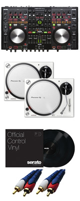 Denon(デノン) / MC6000mk2 【Serato DJ Pro無償】 PLX-500-W DVSセット 8大特典セット