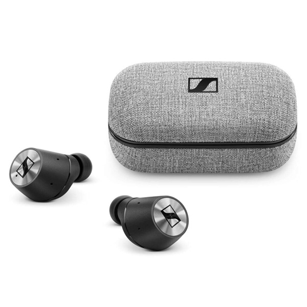Sennheiser(ゼンハイザー) / MOMENTUM True Wireless (BLACK) Bluetooth対応 完全ワイヤレスイヤホン 1大特典セット