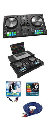 TRAKTOR KONTROL S2 MK3 / Native Instruments(ネイティブインストゥルメンツ)&Zomo(ゾモ)専用フライトケースセット  5大特典セット