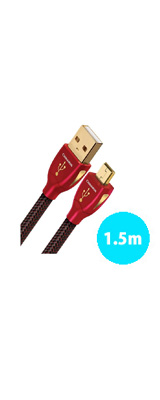 AudioQuest(オーディオクエスト) / USB2 CINNAMON (1.5m / Type-A to mini) オーディオグレードUSBケーブル