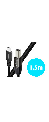 AudioQuest(オーディオクエスト) / USB2 DIAMOND (1.5m / Type-C to Type-B) オーディオグレードUSBケーブル
