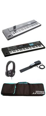 【デッキセーバーセット】 Roland(ローランド) / JUNO-DS61 - 61鍵 シンセサイザー - 2大特典セット