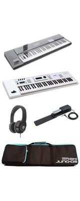 【デッキセーバーセット】 Roland(ローランド) / JUNO-DS61W - 61鍵 シンセサイザー - 2大特典セット