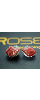 ROSE (ローズ) / BR5 Mk2 RED - カナル型イヤホン - 1大特典セット
