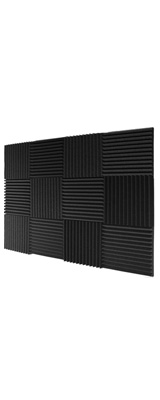 Mybecca / Acoustic Panels Studio Foam Wedges (30.5×30.5 x 2.5cm) 12個パック - 吸音材 -