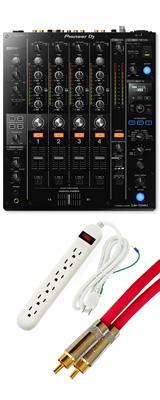 Pioneer(パイオニア)  / DJM-750MK2 【最上級 Belden RCAケーブル 3m 1ペアプレゼントキャンペーン!】【1月31日までの期間限定】 2大特典セット