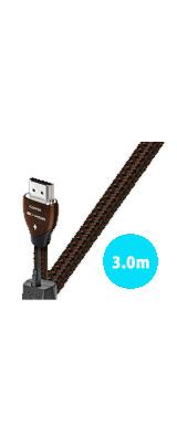 AudioQuest(オーディオクエスト) / HDMI2 3.0m  コーヒー - HDMIケーブル -