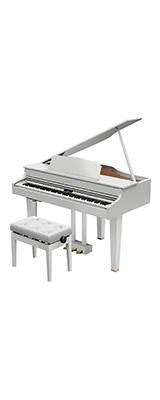 Roland(ローランド) / GP607-PWS ( 白塗鏡面艶出し塗装仕上げ ) 【楽譜集・専用高低自在椅子付属】 -デジタル・ピアノ - 【全国配送・組立設置無料(※離島は除く・代引き不可)】