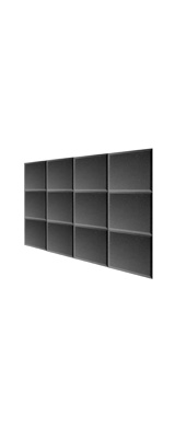 Mybecca / Acoustic Panels Studio Foam charcoal (30.5×30.5 x 2.5cm) 12個パック - 吸音材 -
