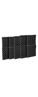 Mybecca / Acoustic Panels Studio Foam Egg Crate (30.5×30.5 x 3.8cm) 12個パック - 吸音材 -