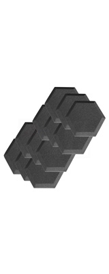 Mybecca / Acoustic Panels Studio Foam Hexagon Bevel (15.24×15.24 x 2.5cm) 12個パック - 吸音材 -