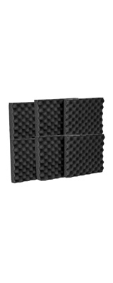 Mybecca / Acoustic Panels Studio Foam Egg Crate (30.5×30.5 x 3.8cm) 6個パック - 吸音材 -