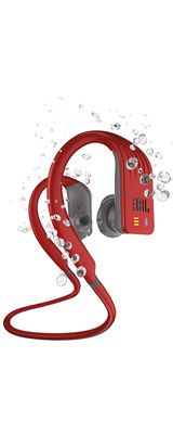 JBL(ジェービーエル) / ENDURANCE DIVE (RED) 防水仕様 (IPX7) MP3プレーヤー内蔵 Bluetooth対応 ワイヤレスイヤホン 1大特典セット
