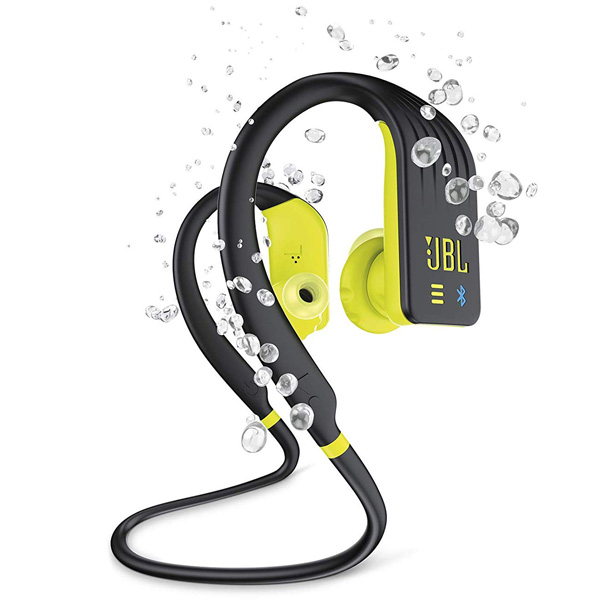 JBL(ジェービーエル) / ENDURANCE DIVE (BLACK NEON YELLOW) 防水仕様 (IPX7) MP3プレーヤー内蔵 Bluetooth対応 ワイヤレスイヤホン 1大特典セット